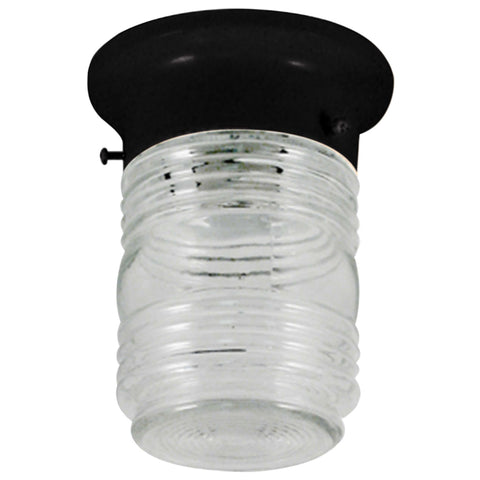 Outdoor Jelly Jar Ceiling Mount