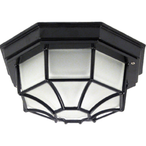 Octagon Outdoor Ceiling Flush Mount