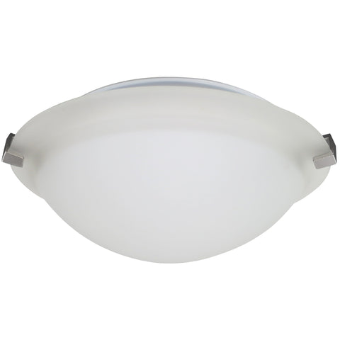 3-Clip Frosted Flush Mount