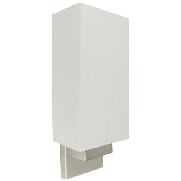 Ambient Canvas Shade Modern Wall Sconce