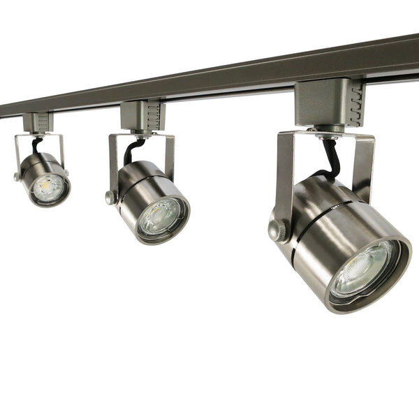 3-Light Cylinder Swivel-Head Track
