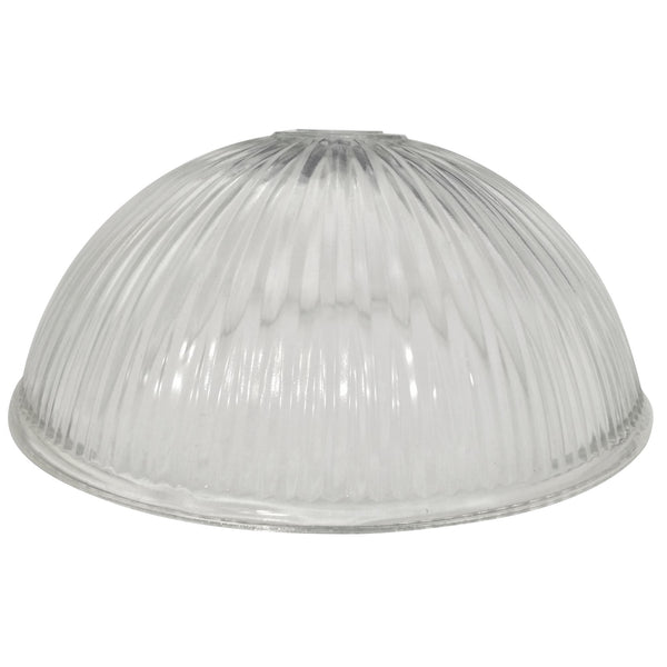 Clear, Ribbed Dome