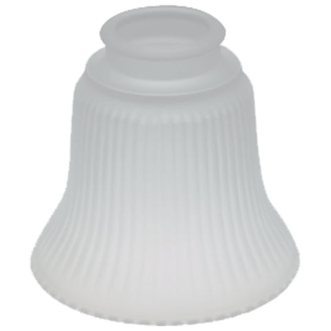 Frosted Ribbed Bell