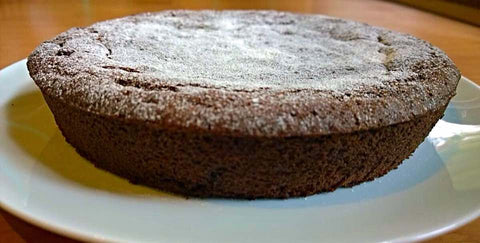 Organic Amaranth Chocolate Cake