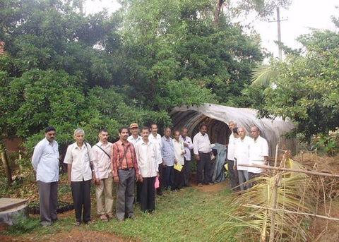 Education on prevention of insect infestation in progress