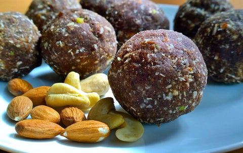 Finger Millet Bliss Balls - Earthon