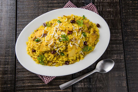 Poha (Flattened Rice) Savoury Recipe