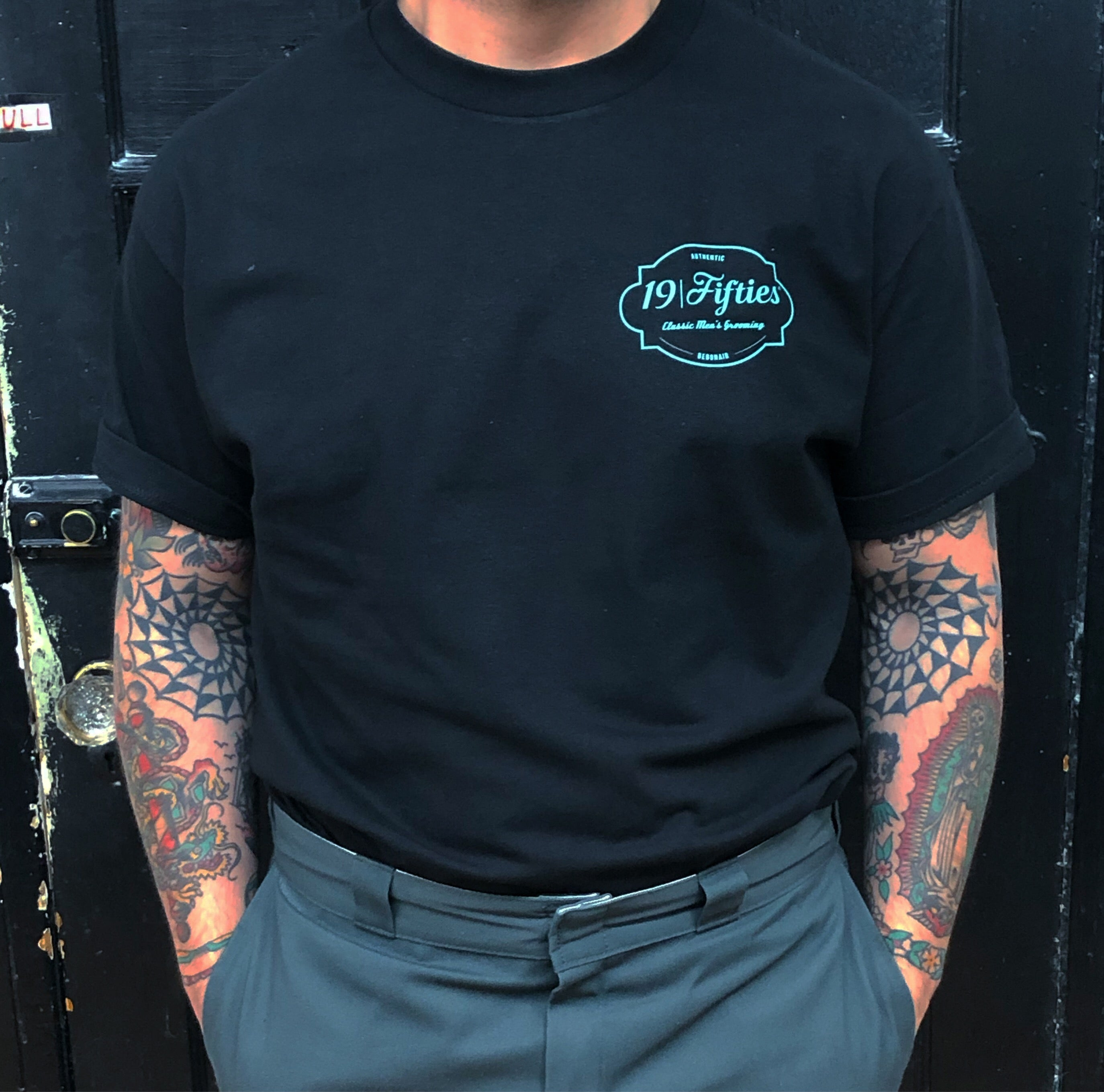 """The Good Part"" Tee - Mint On Black"