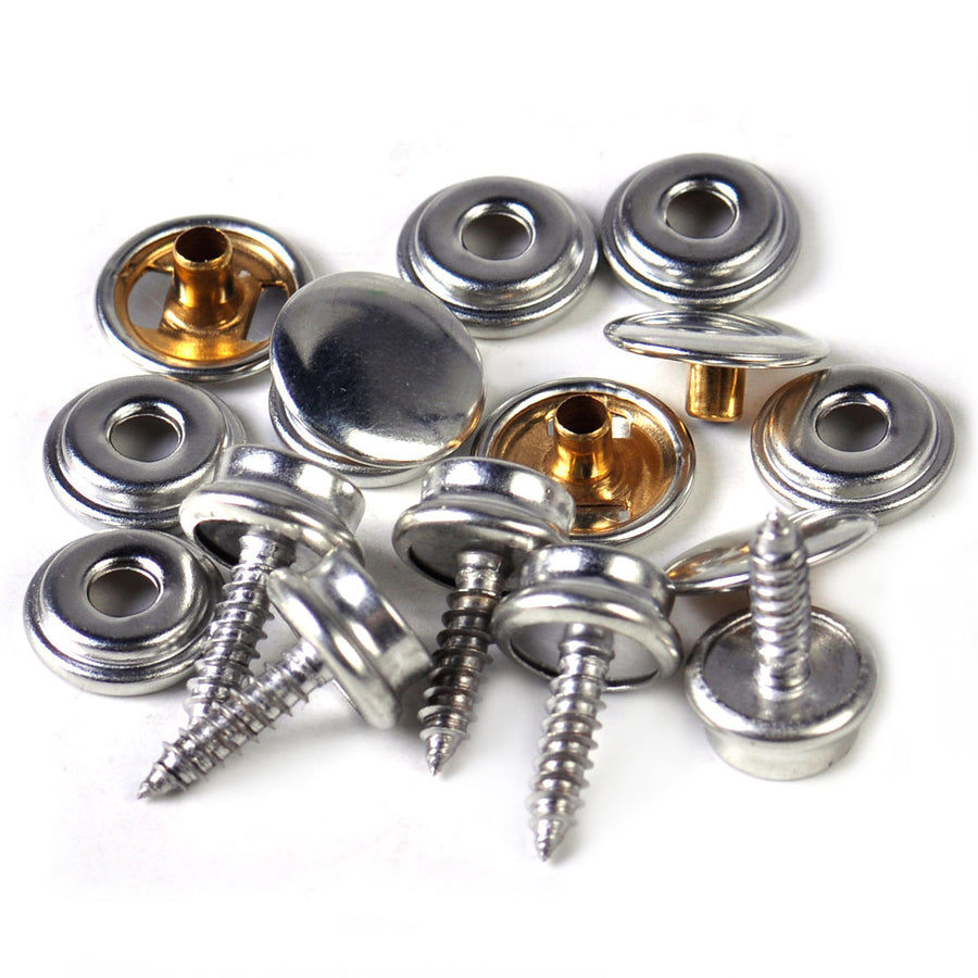 Snap Fastener Kit - 5 complete fasteners and tools - Rockboat Marine