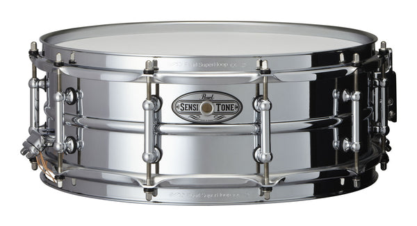 Pearl Sensitone Beaded Steel Snare 05x14