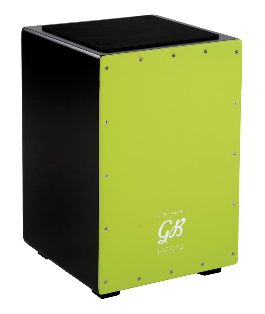 Gon Bops Fiesta Color Cajon  Lime Crush