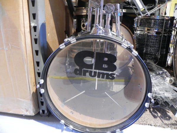 CB Jr. 5pc Drum Set Complete Green