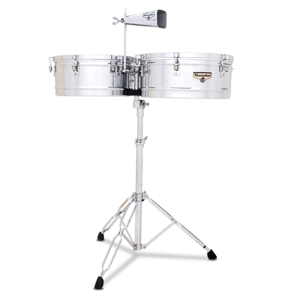 LP Timbales Matador Chrome