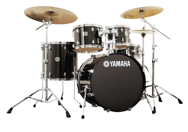 Yamaha Stage Custom Birch 5pc w/Stands Raven Black