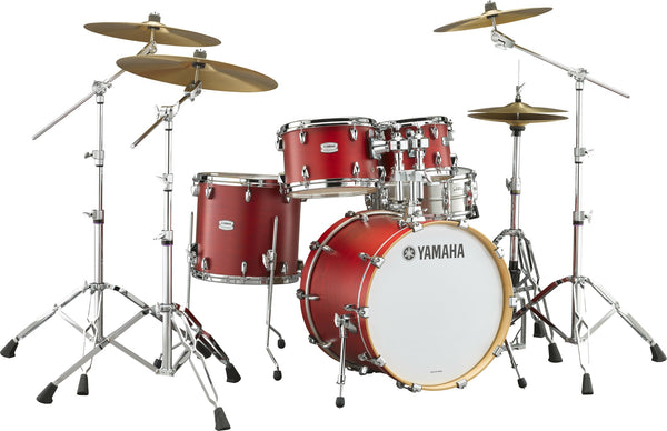Yamaha Tour Custom 4pc Shell Pack Candy Apple Satin