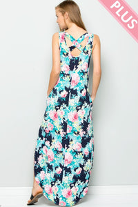 Spring Time in the City Maxi Dress