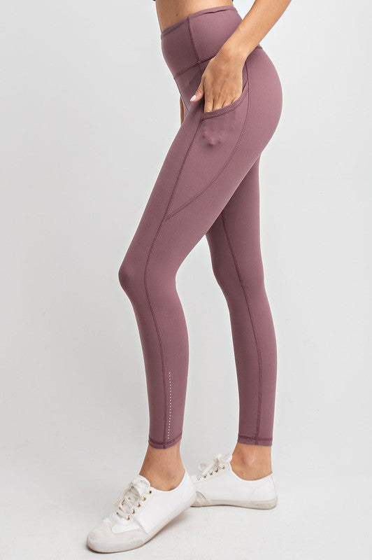Oh So Soft Leggings With Pockets and Reflectors