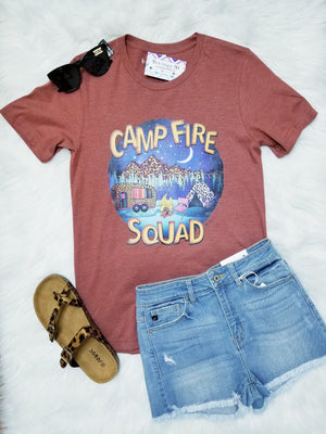 Camp Fire Squad Graphic Tee