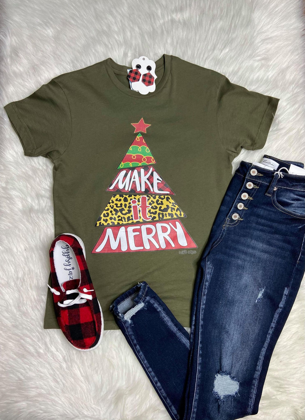 Oh Make It Merry Graphic Tee