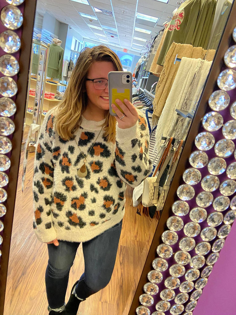 Leopard Print Soft and Cozy Sweater