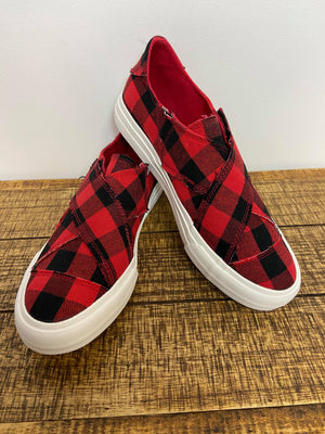 Very G Gypsy Jazz Plaid Along Sneakers