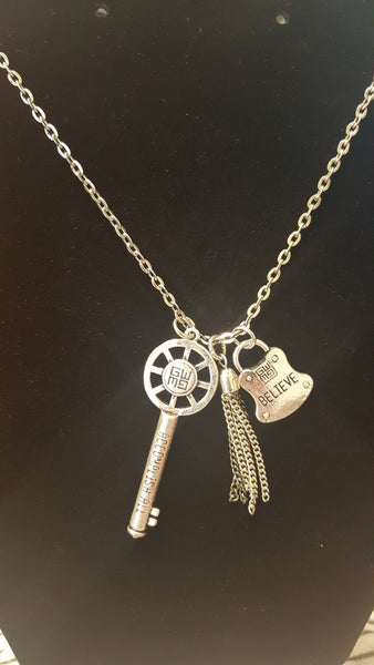 GOOD WORK(S) Blessing Key Believe Necklace
