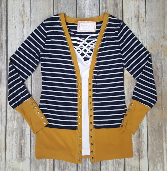 Gotta Have It Snap Detail Cardigan