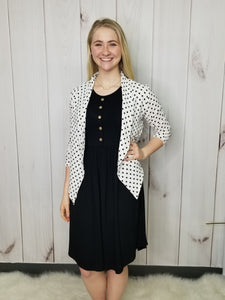 Photo Ready Finish Polka Dot Jacket