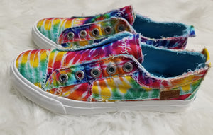 Blowfish Play Sneaker - Rainbow Tie Dye