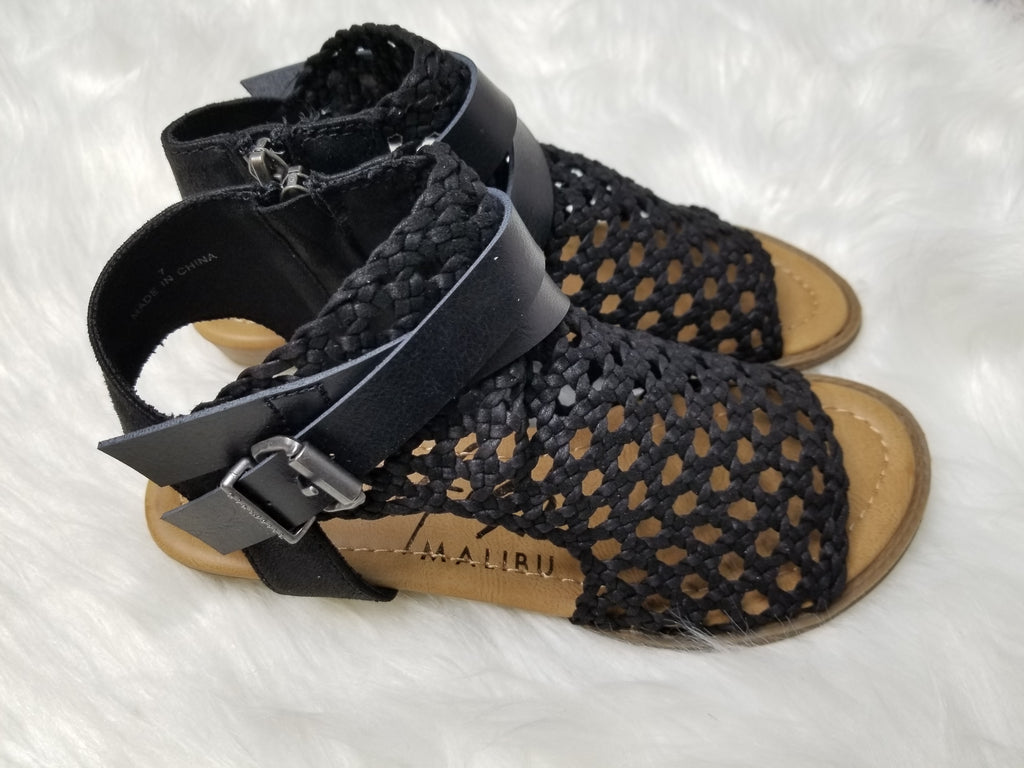 Blowfish Balla Woven Sandals - Black