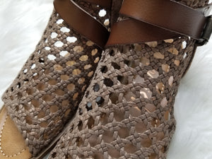 Blowfish Balla Woven Sandals - Mars