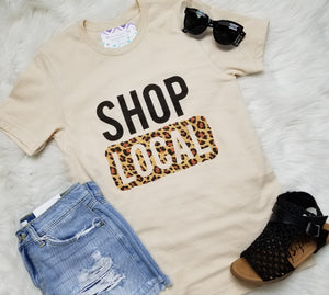 Shop Local Leopard Detail Graphic Tee