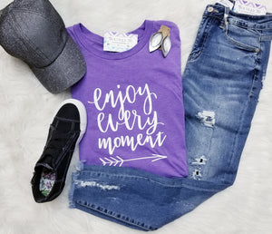 Enjoy Every Moment Graphic Tee