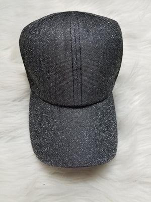 CC Glitter Two Way Stretch PonyCap