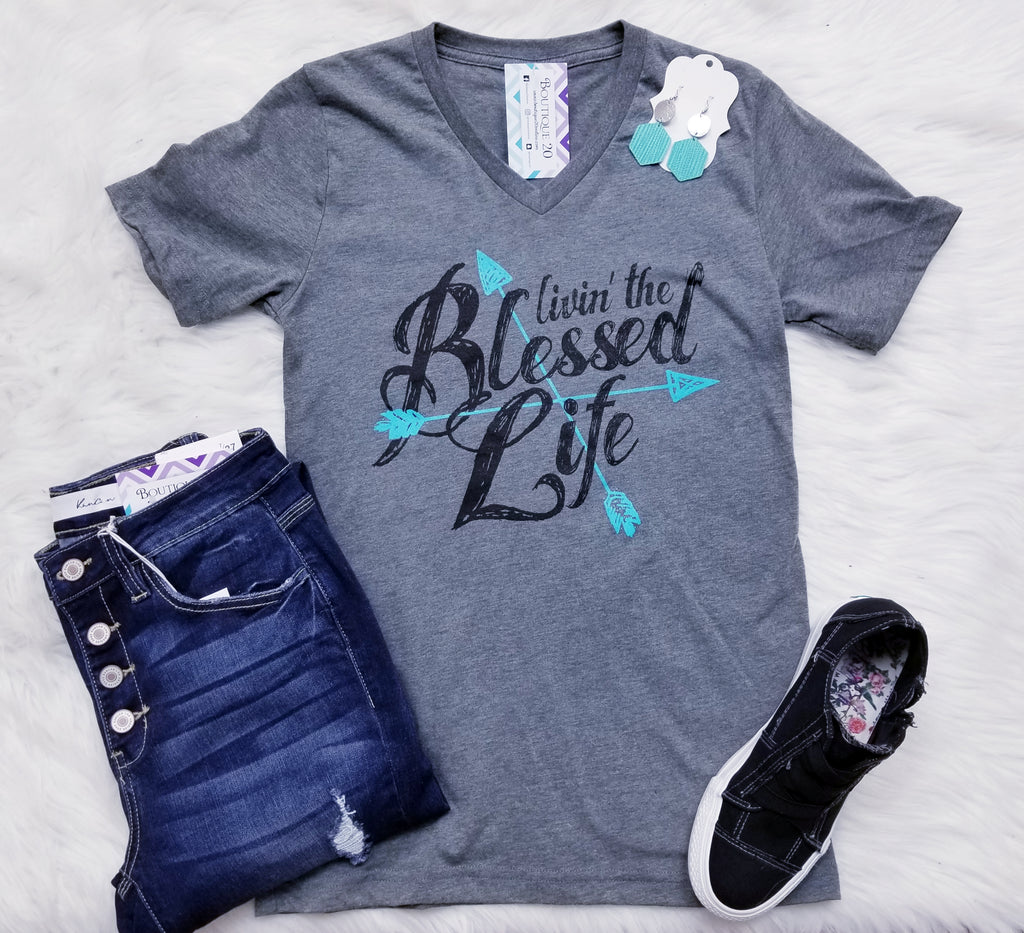 Livin' The Blessed Life Graphic Tee