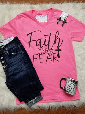 Faith Over Fear Graphic Tee
