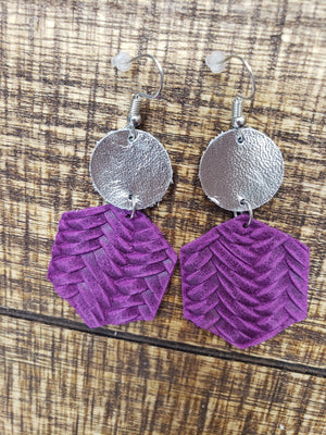 Double Layer Braided Earrings