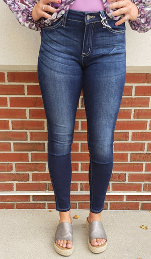KanCan Mid-Rise Super Skinny Jeans