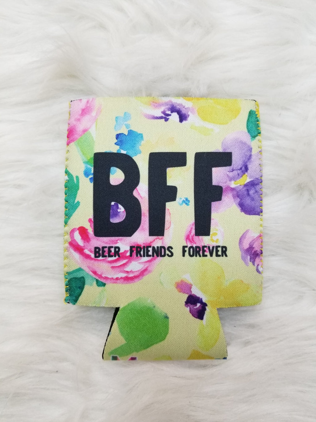 BFF - Beer Friends Forever Can Cooler