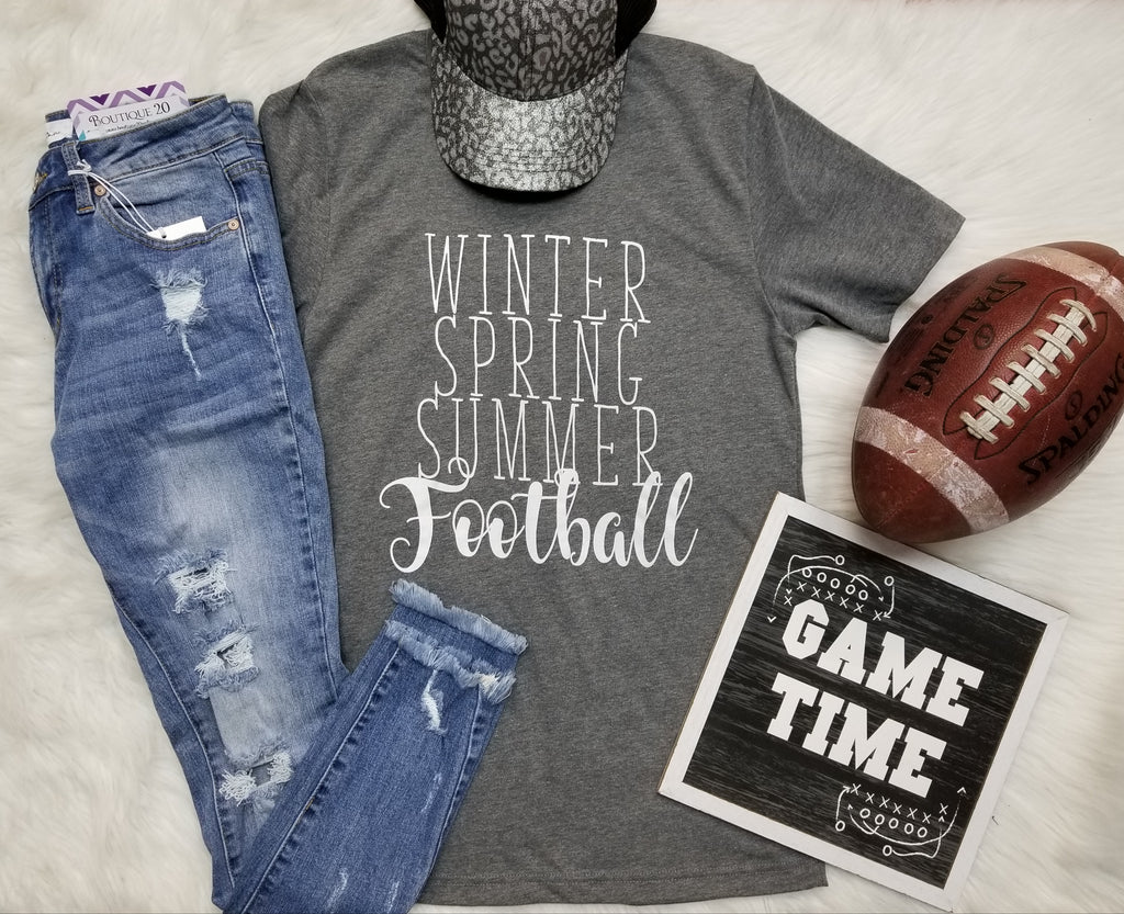 Winter, Spring, Summer, Football Graphic Tee