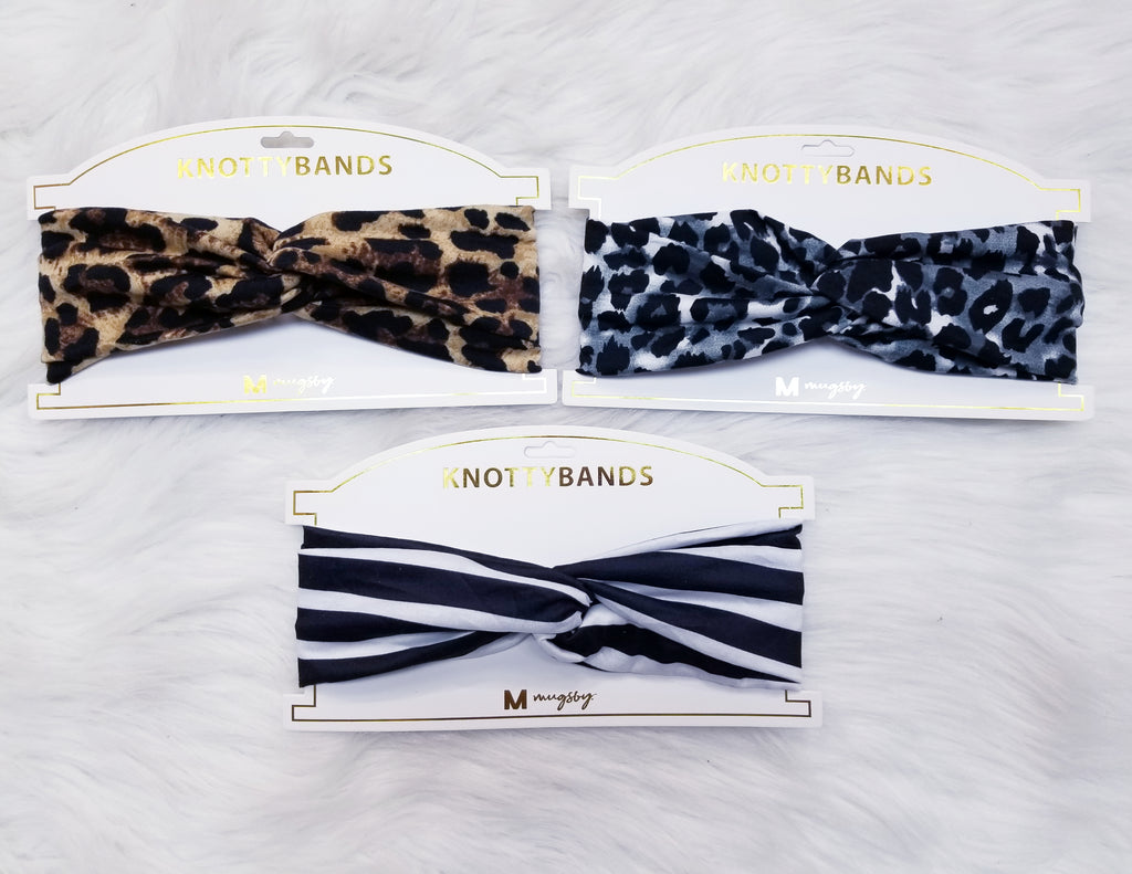 KnottyBands Printed Headband - Many Prints Available
