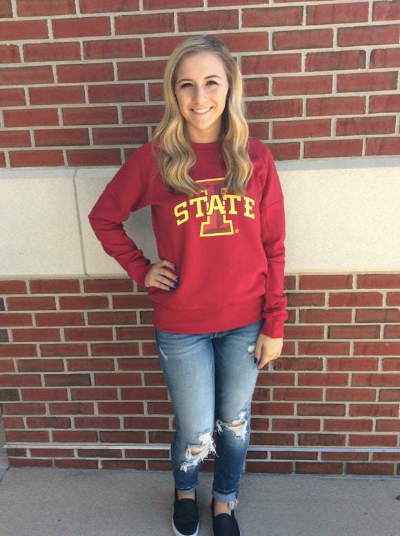Iowa State Cyclones Crew Neck Sweatshirt