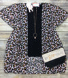 Lets Get Wild Animal Print Open Front Kimono - Final Sale