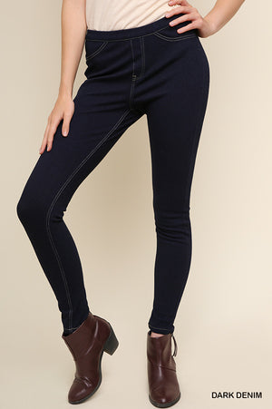 Hi Fashion High Waist Stretch Jeggings