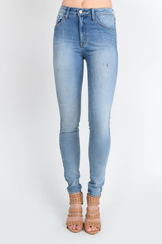 Kan Can Plus Size Skinny Jeans
