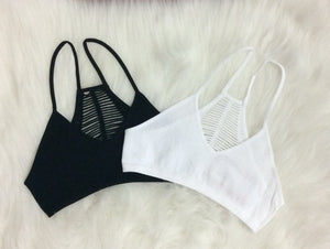Make The Cut Racer Back Bralette