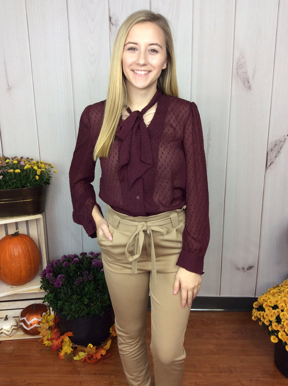Today's The Day Textured Blouse FINAL SALE CLEARANCE