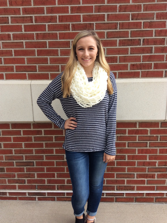Sweet Caroline Striped Top