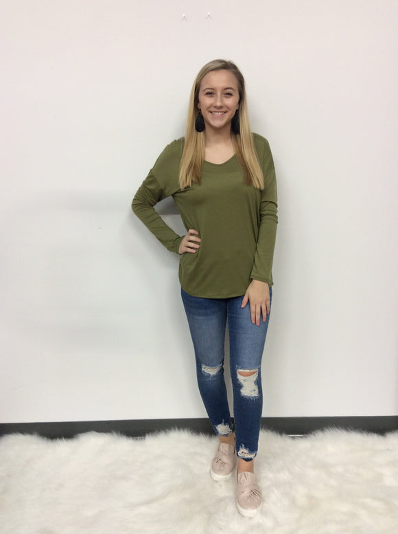 Layer Me Up Long Sleeve Top - FINAL SALE CLEARANCE