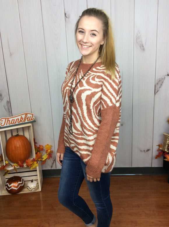 Sweet Tiger Spice Sweater